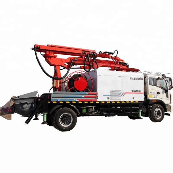 TX2515 concrete spraying robot