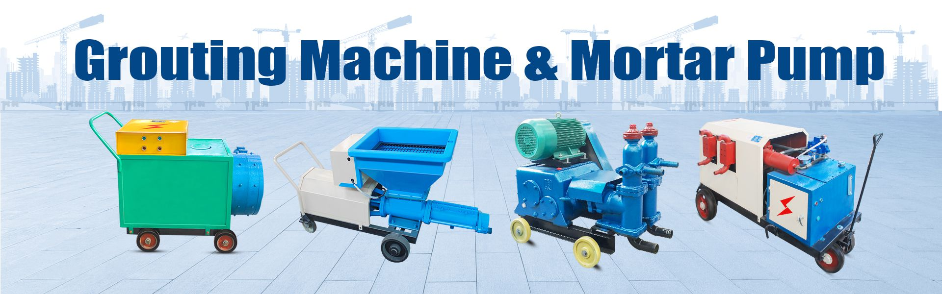 mortar-grout-pump-machine
