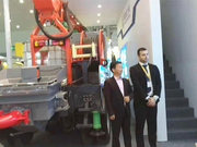 TXJS2515 shotcrete robot at Shanghai Bauma Exhibition